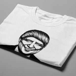 Trump Stencil Men's Tee - white - folded short