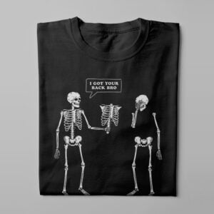 I've Got Your Back Funny Men's Tee - black - folded long