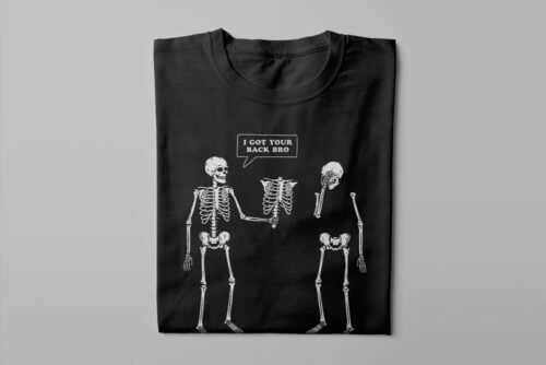 I've Got Your Back Funny Men's Tee - black - folded long