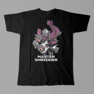Master Shredder TMNT Kitchen Dutch Parody Men's Tee - black