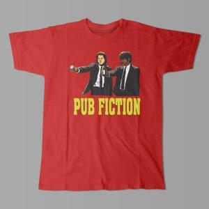 Pulp Fiction Kitchen Dutch Parody Men's Tee - red