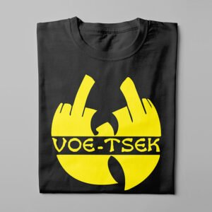 Wu Tang Clan Kitchen Dutch Parody Men's Tee - black - folded long