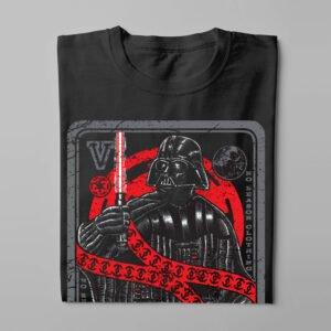 No Reason Vader Card Men's Tee - black - folded long