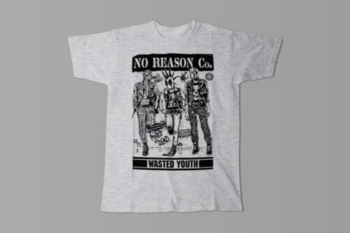 No Reason Wasted Youth Men's Tee - melange