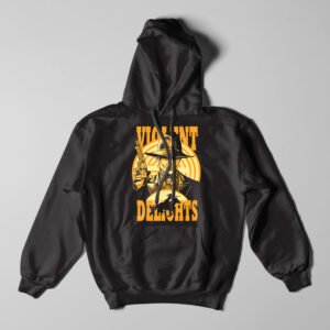 Violent Delights Westworld Fan Art Black Hoodie