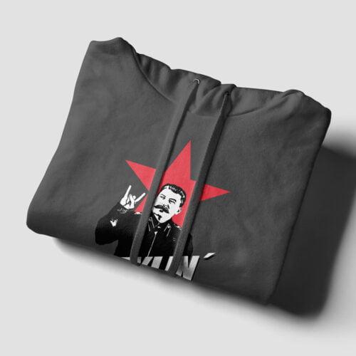 Joseph Stylin' Tshirt Terrorist Parody Charcoal Hoodie - folded strings