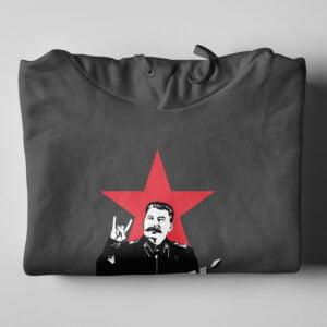 Joseph Stylin' Tshirt Terrorist Parody Charcoal Hoodie - folded