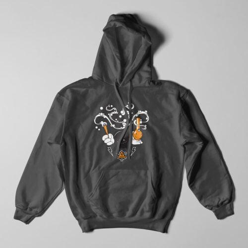 THC Tshirt Terrorist Parody Charcoal Hoodie