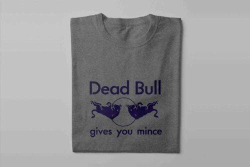 Red Bull Laugh it Off Parody Men's T-shirt - steel melange - folded long