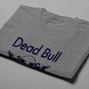 Red Bull Laugh it Off Parody Men's T-shirt - steel melange - folded short
