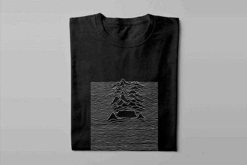 Joy Division Cape Town Laugh it Off Parody Men's T-shirt - black - folded long
