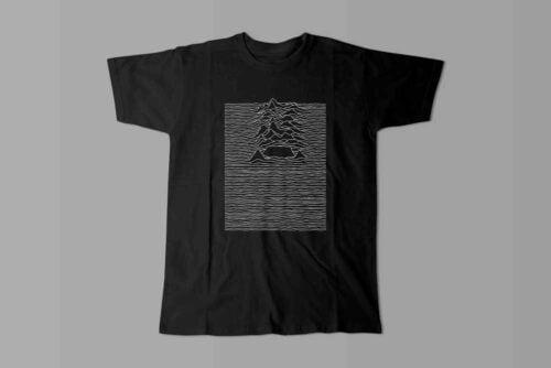Joy Division Cape Town Laugh it Off Parody Men's T-shirt - black