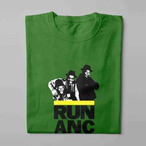 WindhRun DMC ANC Laugh it Off Parody Men's T-shirt - green - folded long