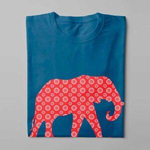 Shwe Shwe Elly Laugh it Off Ladies T-shirt - surf blue - folded long