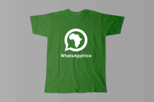 WhatsApp Laugh it Off Parody Men's T-shirt - green
