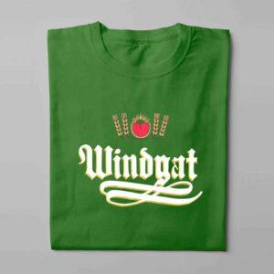 Windhoek Lager Laugh it Off Parody Men's T-shirt - green - folded long