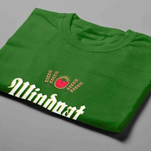 Windhoek Lager Laugh it Off Parody Men's T-shirt - green - folded short