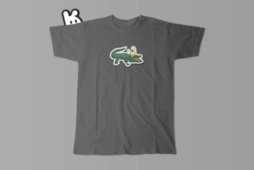 Alligator Loki Marvel Parody Men's Tee - charcoal