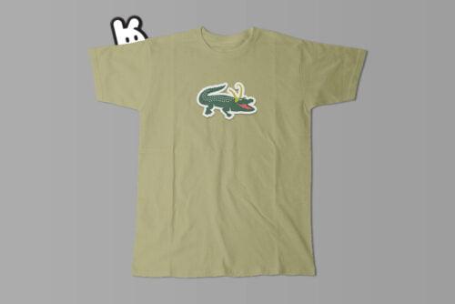 Alligator Loki Marvel Parody Men's Tee - olive