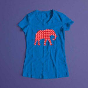 Shwe Shwe Elly Laugh it Off Ladies T-shirt - surf blue