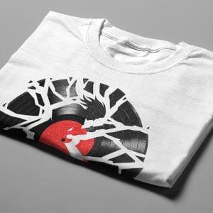 Smash Hit Gamma-Ray Graphic Design Men's Tee - white - folded short